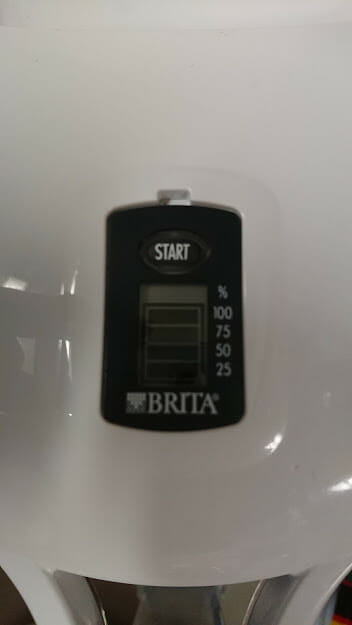 ブリタ 液晶メモ