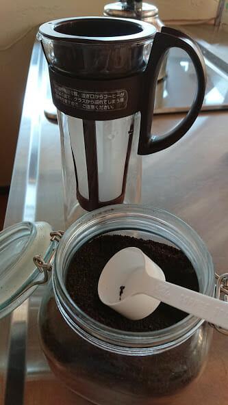水出しコーヒー作りチャレンジ2回目【レビュー】