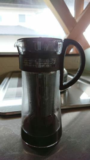 水出しコーヒーの作り方アイスマンデリンの粉で作る