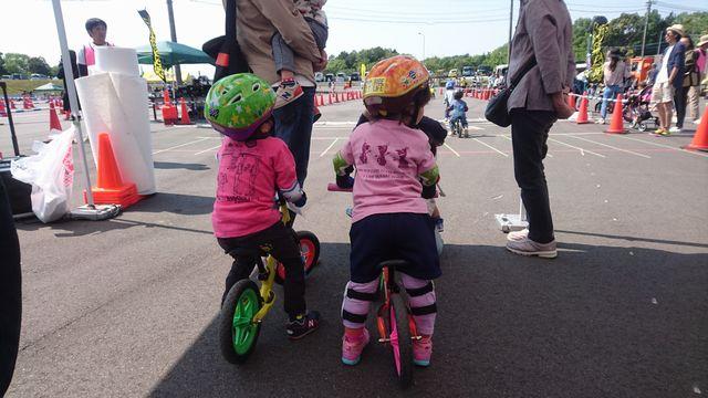 ランバイク(キックバイク)の服装