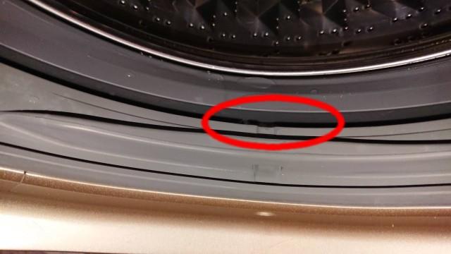洗濯槽クリーナーで洗った後
