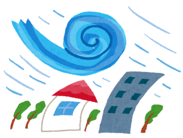 台風に備える家(住まい)の事