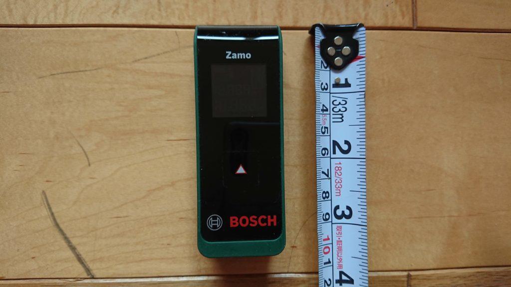 おすすめできる!レーザー距離計【BOSCH ZamoⅡ型レビュー】DIYで測りにくい所も測れる便利アイテムです