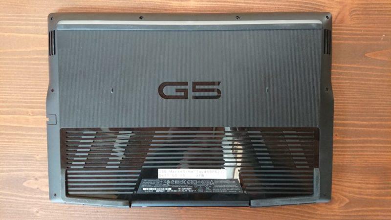 DELL G5 15 底面