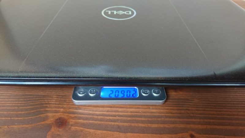 DELL G5 15重量