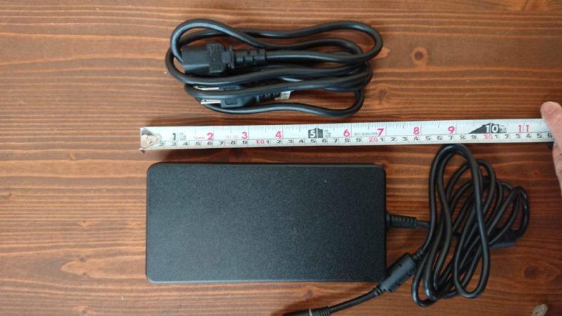 DELL G5 15電源アダプターサイズ