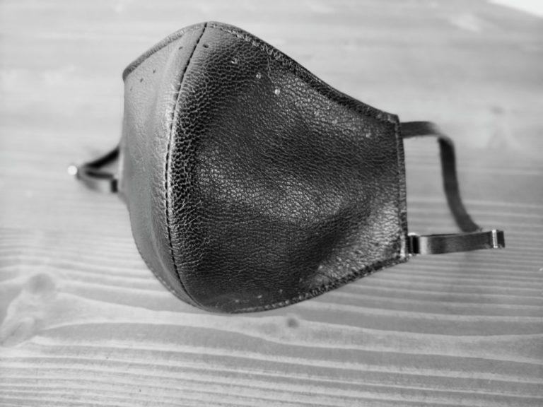 レザーマスク-ヤギ革
