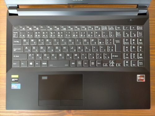 DAIV 5D-R7キーボード