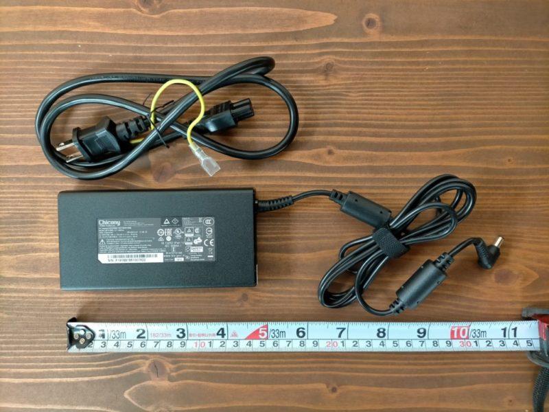 DAIV 5D-R7 ACアダプター①