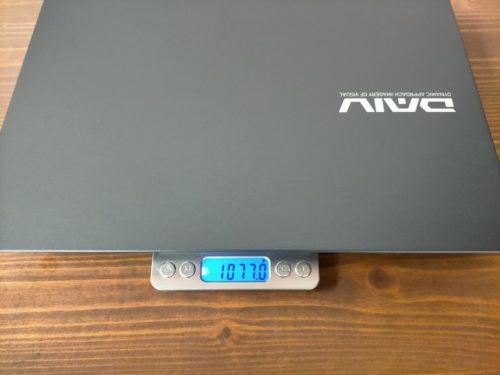 DAIV 4N重さ